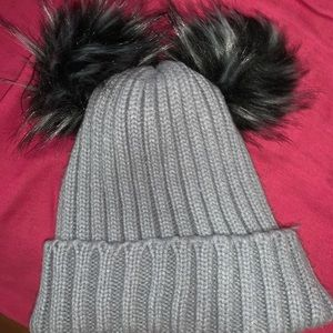 Furry women's winter beanie